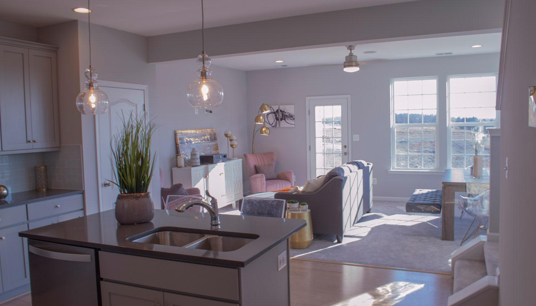 Living Area featured in the Litchfield II By Dan Ryan Builders in Washington, VA
