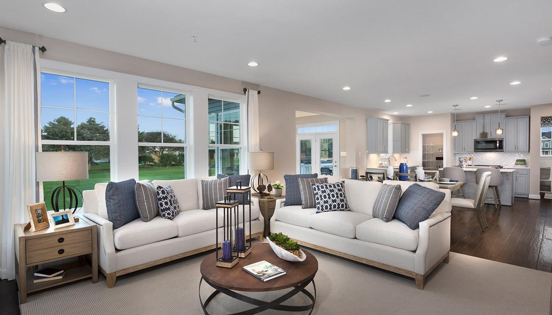 Living Area featured in the Ashton II By Dan Ryan Builders in Washington, MD