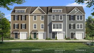 York II Garage - Homestead Acres Townhomes: Hanover, Pennsylvania - Dan Ryan Builders