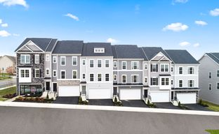 The Townes at Brookeville by Dan Ryan Builders in Washington Maryland