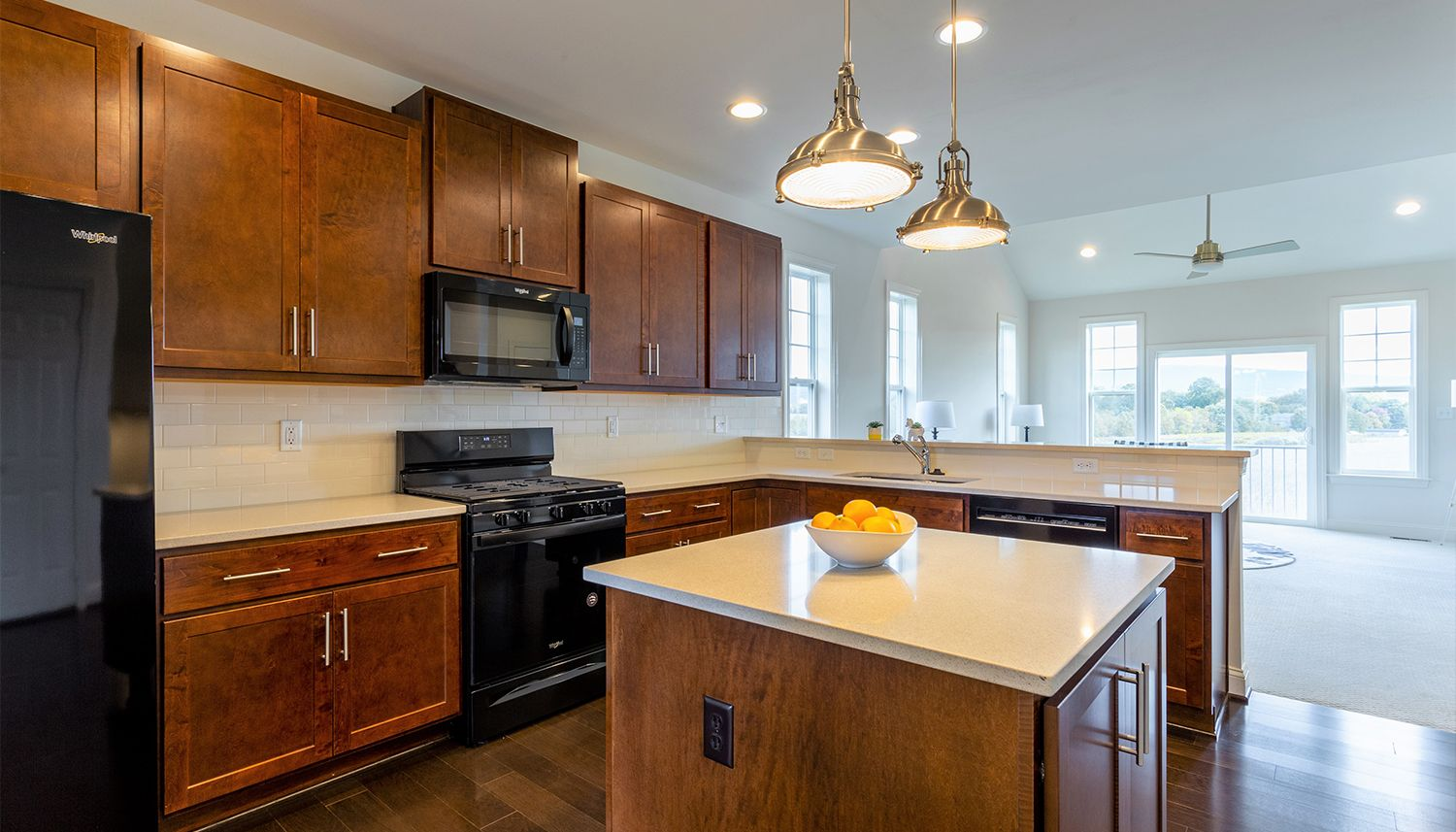 Kitchen featured in the Cambridge II By Dan Ryan Builders in Hagerstown, PA