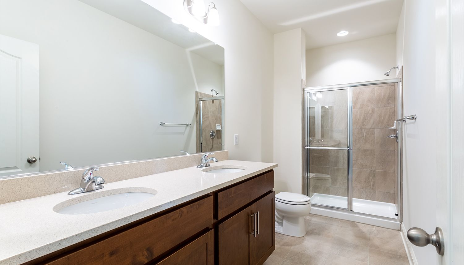 Bathroom featured in the Cambridge II By Dan Ryan Builders in Hagerstown, PA