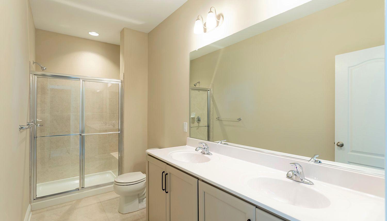 Bathroom featured in the Cambridge II By Dan Ryan Builders in Hagerstown, PA