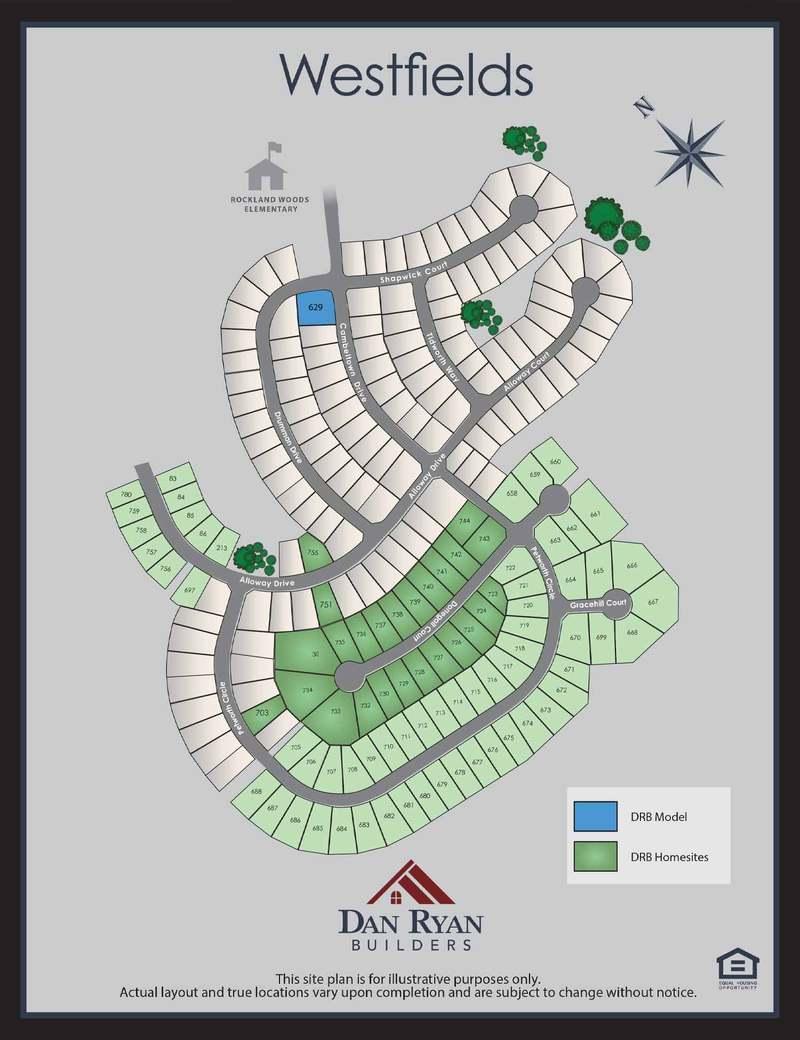 Nottingham Ii Home Plan By Dan Ryan Builders In Westfields