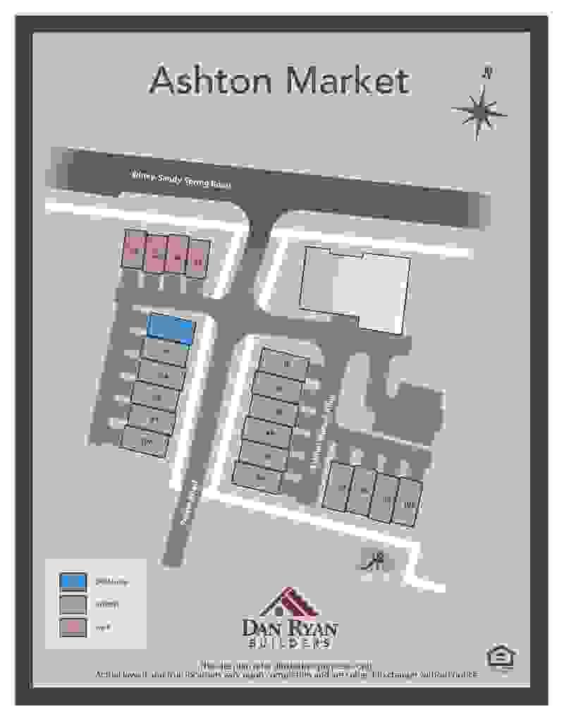 Ashton Market Sitemap