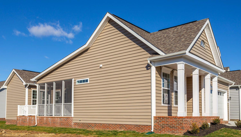 Exterior featured in the Carraway II By Dan Ryan Builders in Washington, VA