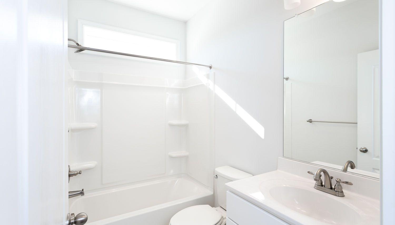 Bathroom featured in the Carraway II By Dan Ryan Builders in Washington, VA