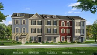 Upton II - Harrington Terrace: Frederick, District Of Columbia - Dan Ryan Builders