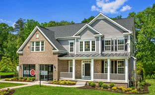 Westphalia Town Center Single Family Homes by Dan Ryan Builders in Washington Maryland