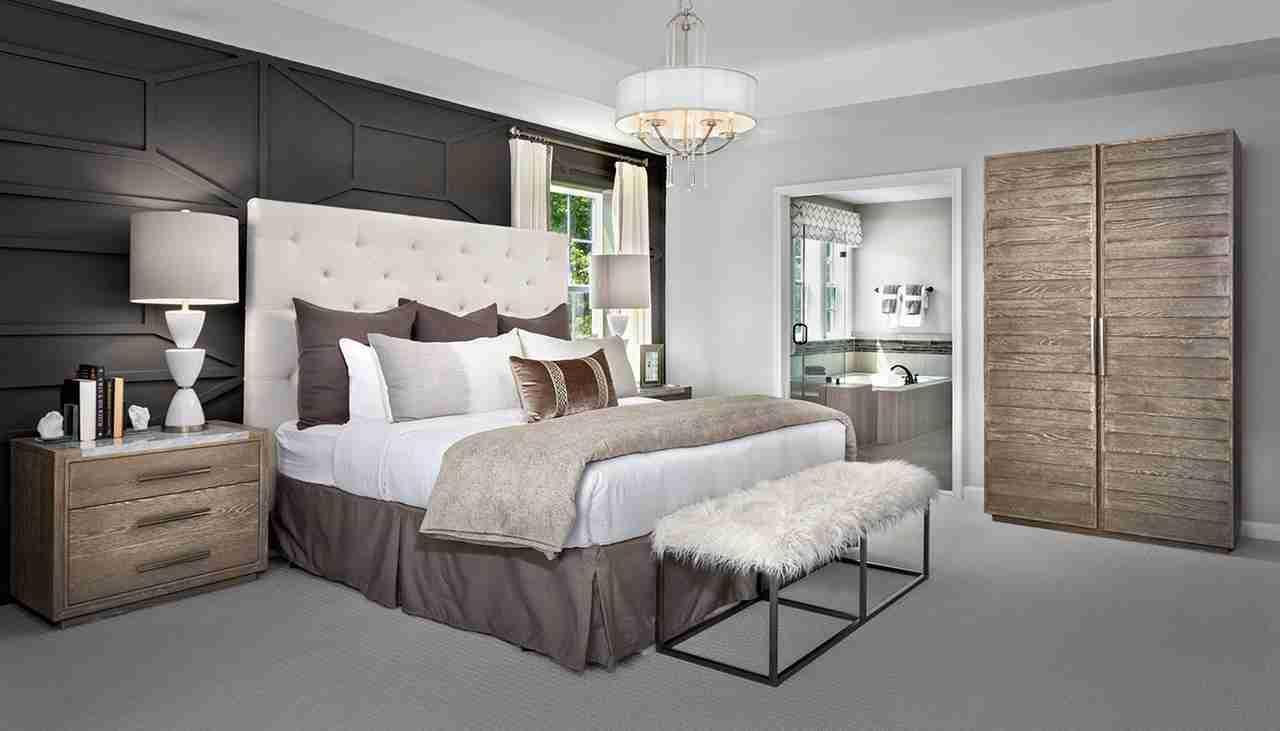 Model Home Owner's Suite  Oakdale II floorplan
