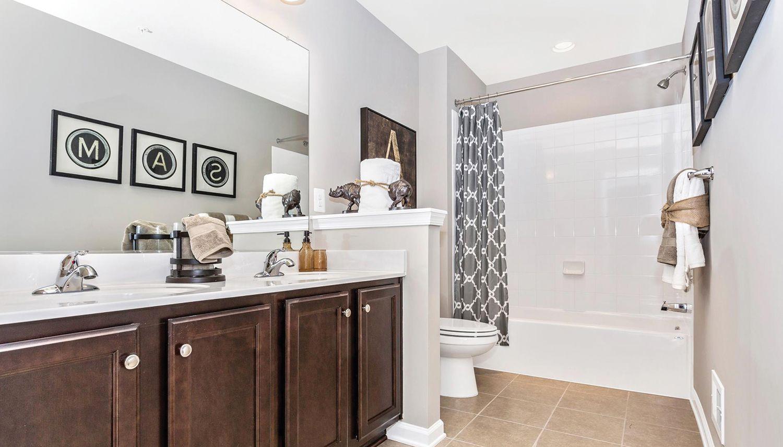 Bathroom featured in the Cumberland II By Dan Ryan Builders in Washington, MD