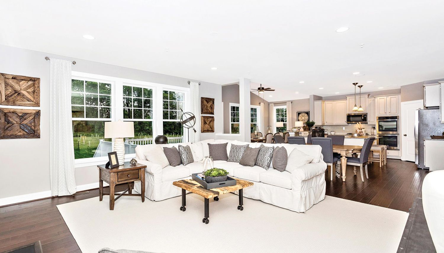 Living Area featured in the Cumberland II By Dan Ryan Builders in Washington, MD