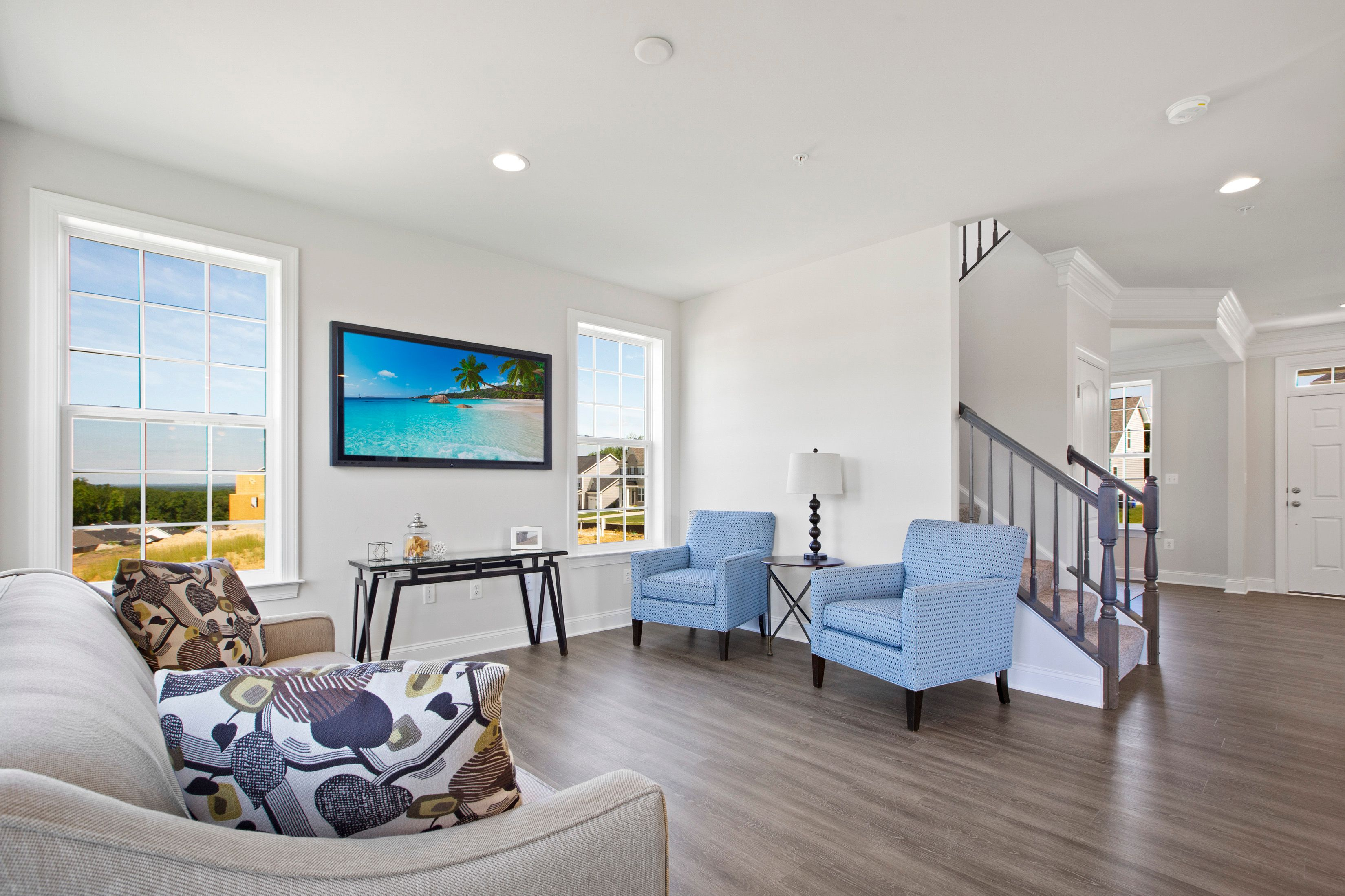 Living Area featured in the Newbury II By Dan Ryan Builders in Hagerstown, MD