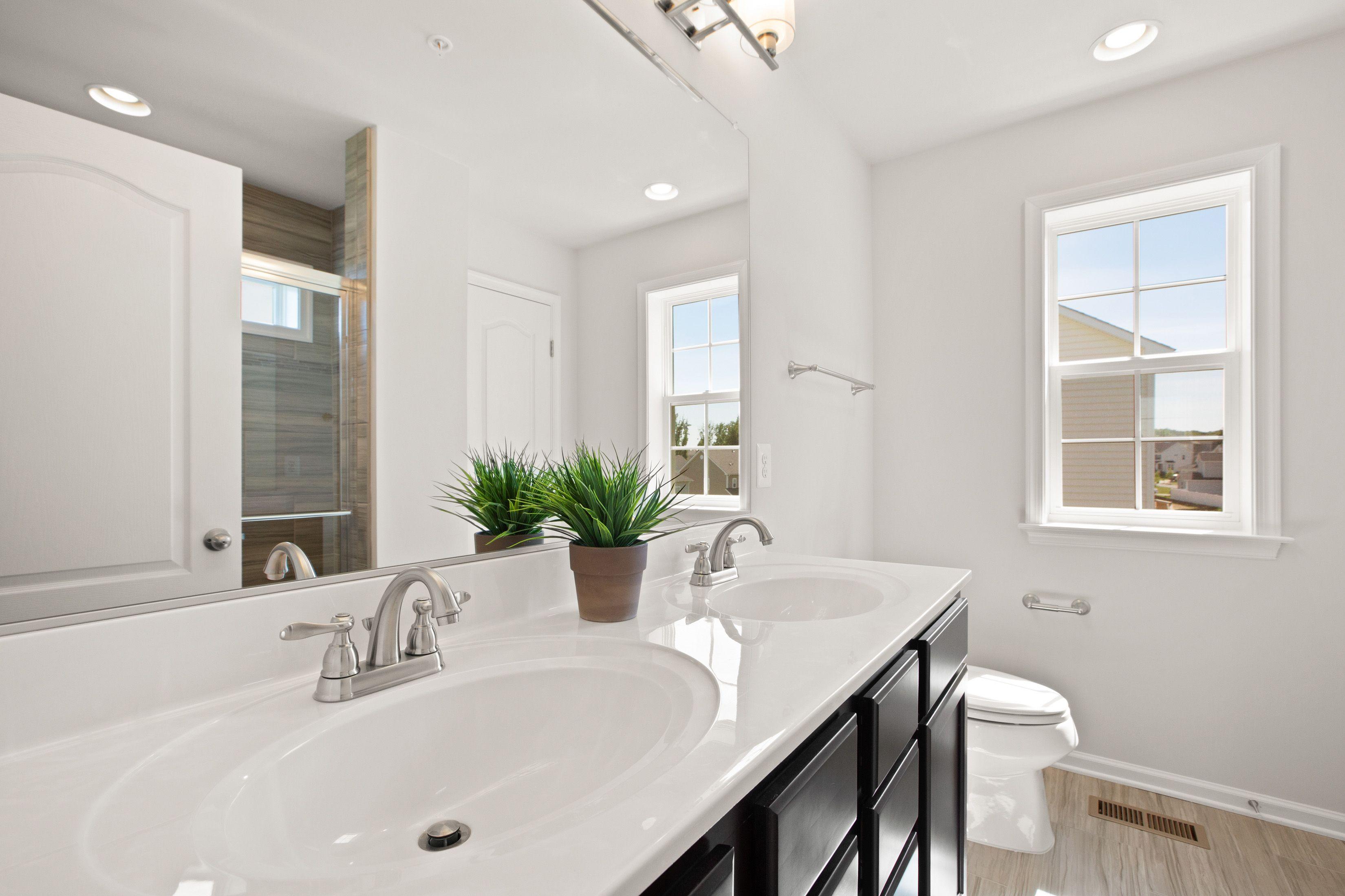 Bathroom featured in the Newbury II By Dan Ryan Builders in Hagerstown, MD
