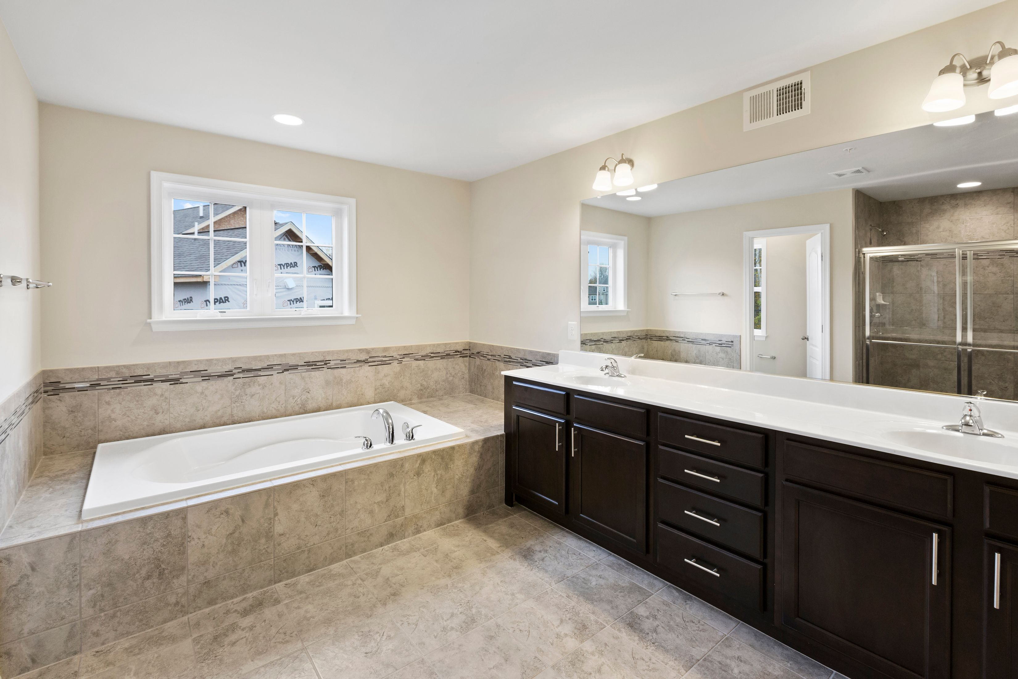 Bathroom featured in the Belmont II By Dan Ryan Builders in Hagerstown, MD