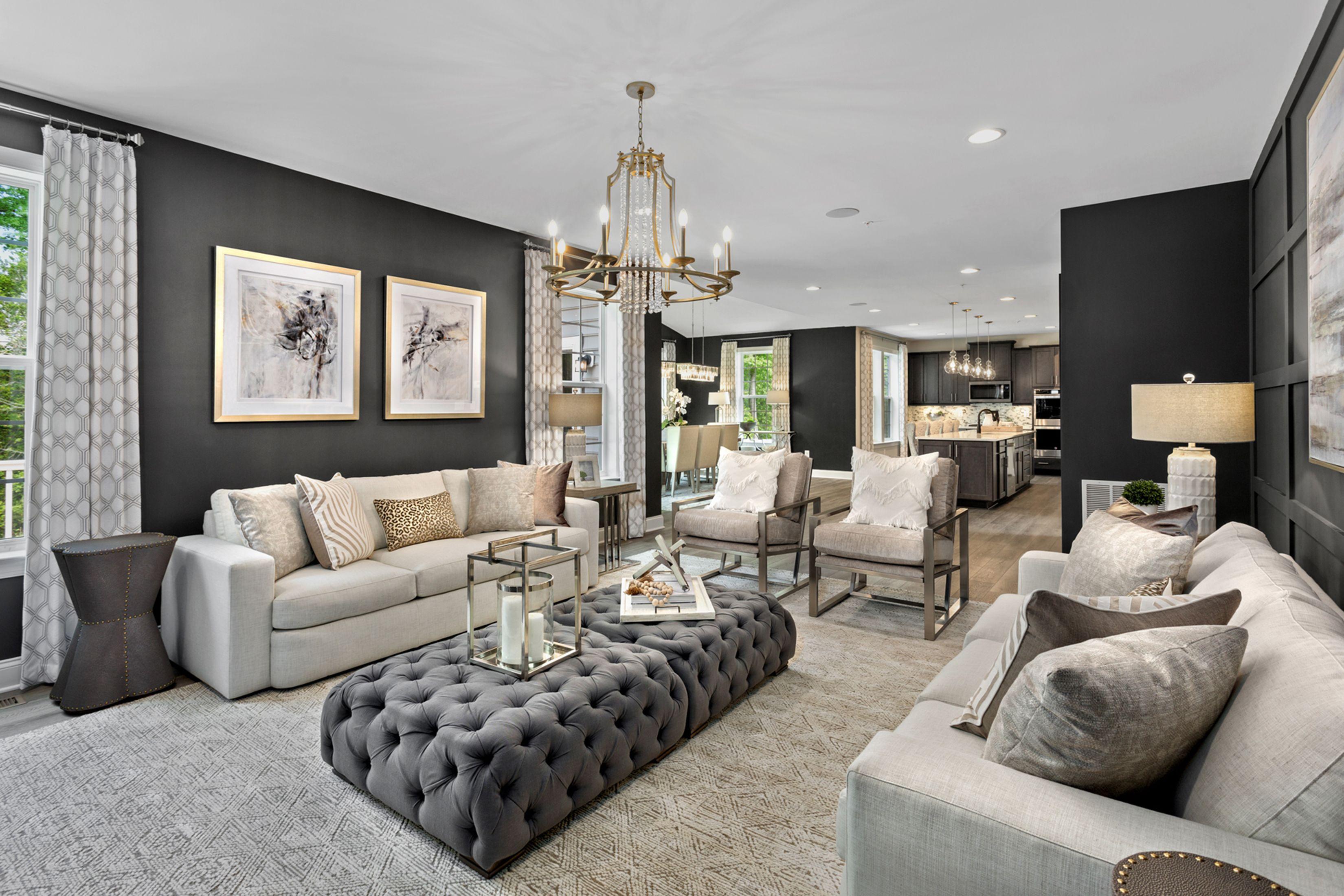 Living Area featured in the Oakdale II By Dan Ryan Builders in Hagerstown, MD