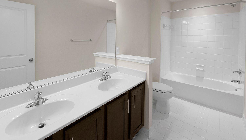 Bathroom featured in the Cumberland II By Dan Ryan Builders in Hagerstown, MD