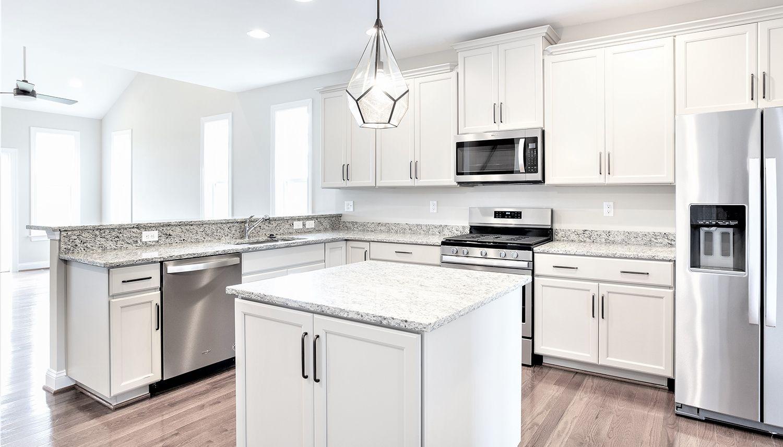 Kitchen featured in the Cambridge II By Dan Ryan Builders in Hagerstown, PA
