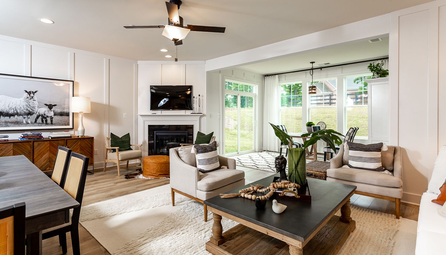Living Area featured in the Finch By Dan Ryan Builders in Hagerstown, MD