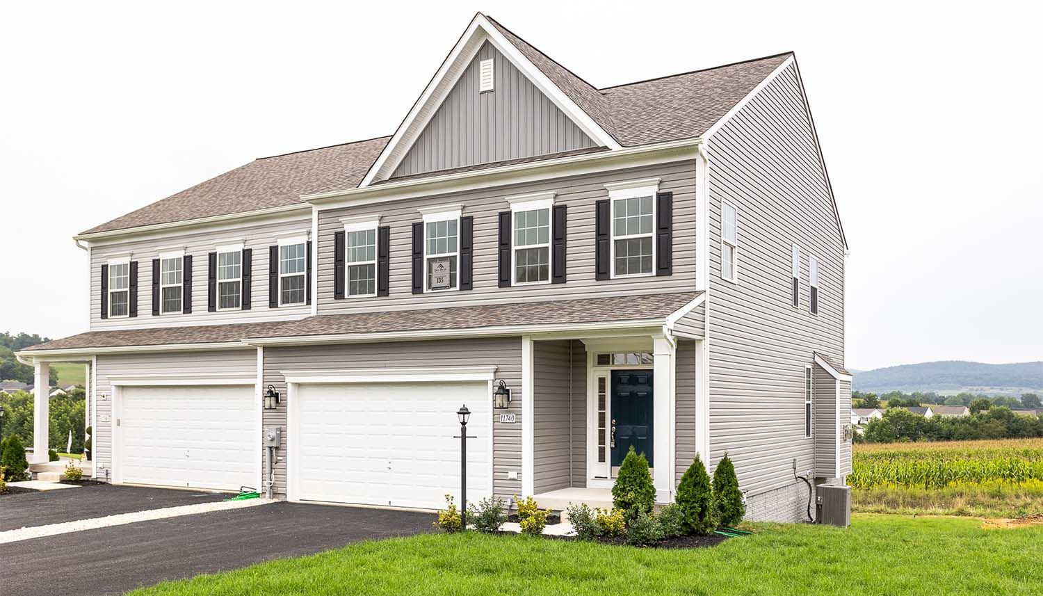Exterior featured in the Crestwood II By Dan Ryan Builders in Hagerstown, PA