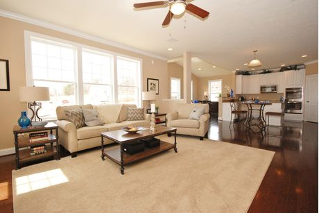 Greatroom-and-Dining-in-Cumberland II-at-Overlook at Riverside – Single Family Homes-in-Falling Waters