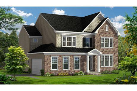 Belmont II-Design-at-Glenn Dale Crossing Single Family Homes-in-Lanham