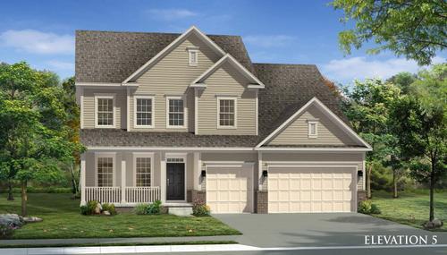 Montgomery II-Design-at-Tuscarora Creek Single Family Homes-in-Frederick
