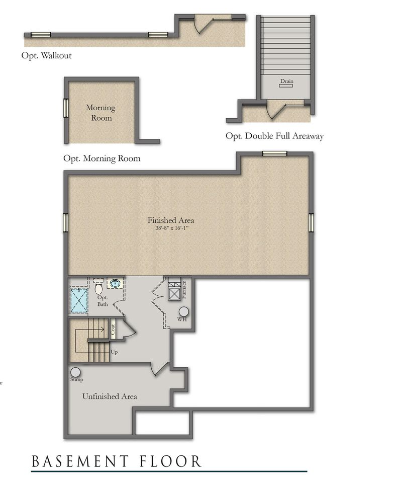 Concord ii home plan by dan ryan builders in clairmont manor - Beatty park swimming pool opening hours ...