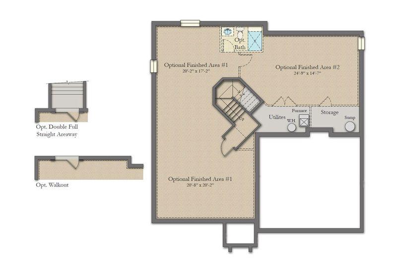 Belmont Ii Home Plan By Dan Ryan Builders In Alderwood