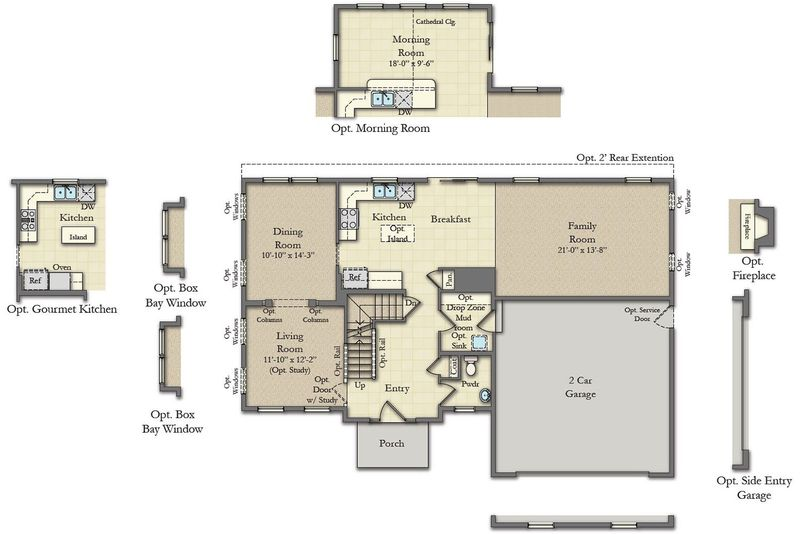 Oakdale Ii Home Plan By Dan Ryan Builders In Alderwood