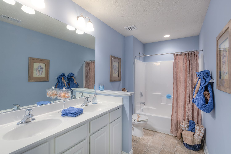 Bathroom featured in the Cumberland II By Dan Ryan Builders in Morgantown, WV