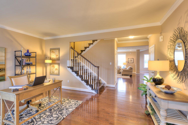 Living Area featured in the Cumberland II By Dan Ryan Builders in Morgantown, WV