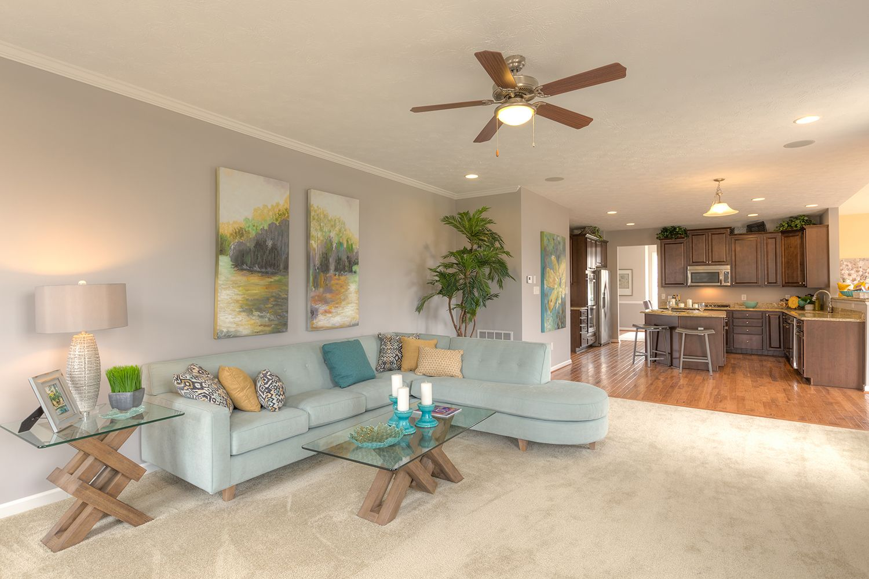Living Area featured in the Oakdale II By Dan Ryan Builders in Morgantown, WV