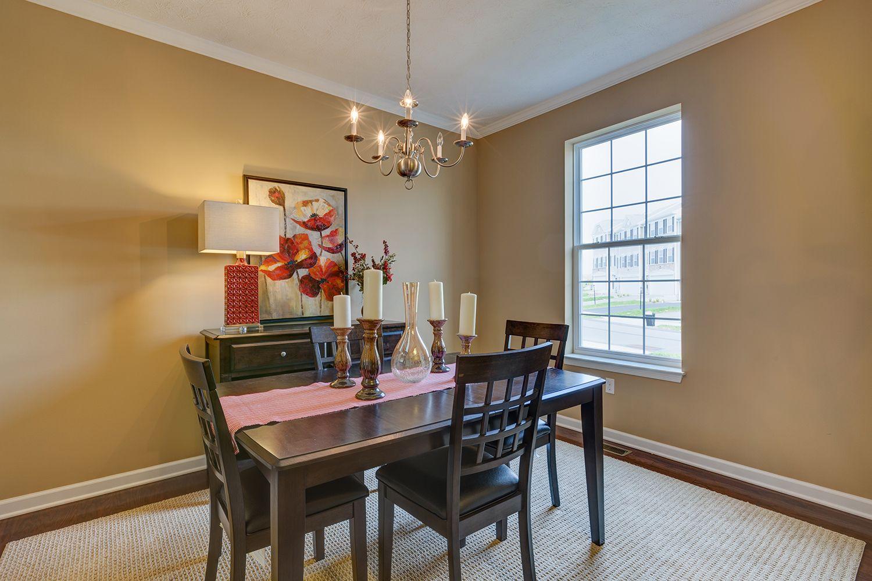 Living Area featured in the Cambridge II By Dan Ryan Builders in Morgantown, WV