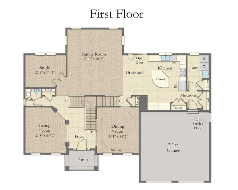 Dan ryan builders oxford floor plan for House plans greenville sc