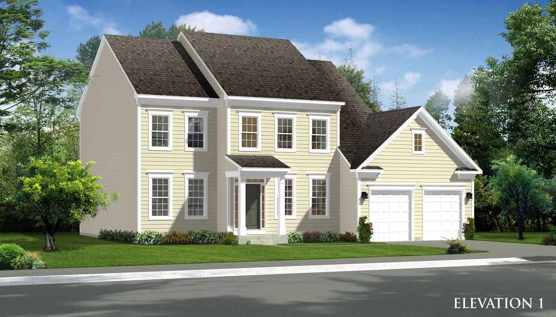Exterior featured in the Dartmouth II By Dan Ryan Builders in Morgantown, WV