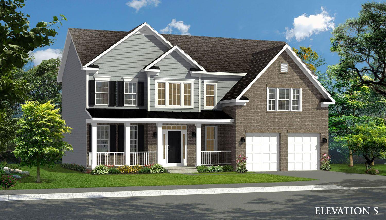 Exterior featured in the Oakdale II By Dan Ryan Builders in Morgantown, WV