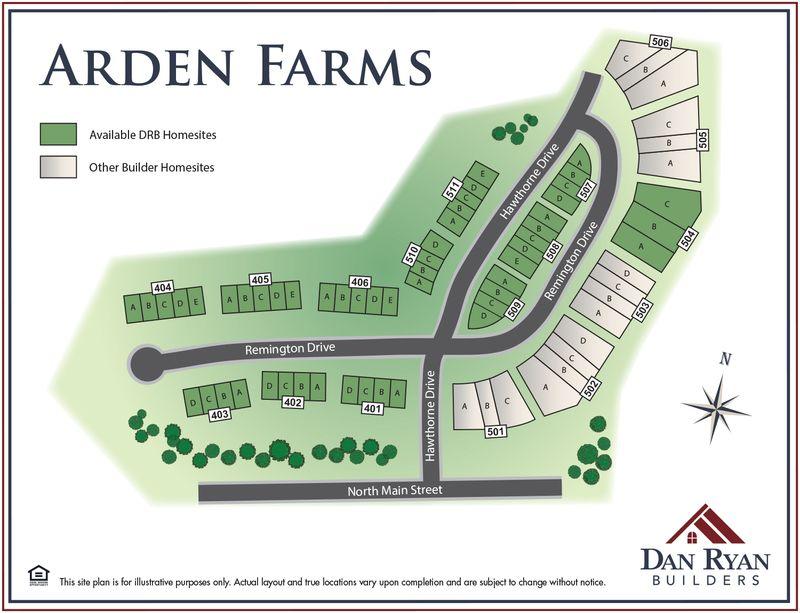 Arden Farms in Washington, PA by Dan Ryan Builders