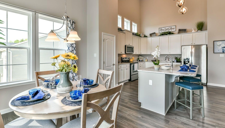 Kitchen featured in the Aspen II By Dan Ryan Builders in Pittsburgh, PA