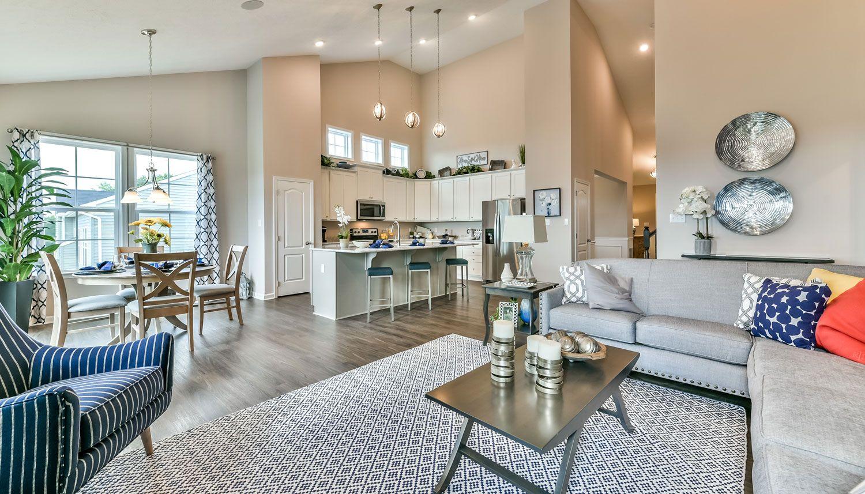 Living Area featured in the Aspen II By Dan Ryan Builders in Pittsburgh, PA