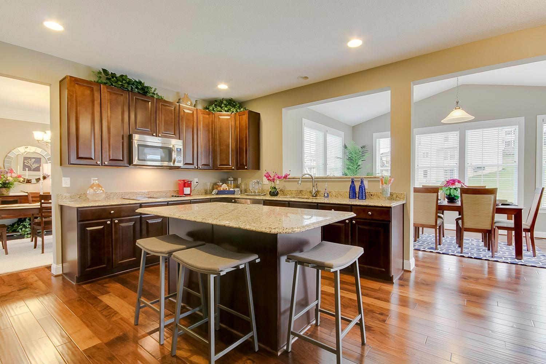 Kitchen featured in the Dartmouth II By Dan Ryan Builders in Morgantown, WV