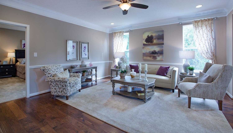 Living Area featured in the Juniper II By Dan Ryan Builders in Morgantown, WV