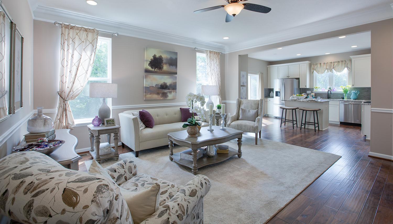 Living Area featured in the Juniper II By Dan Ryan Builders in Pittsburgh, PA