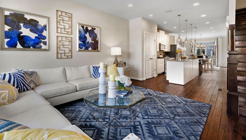 Living Area featured in the Yorktown IIA By Dan Ryan Builders in Morgantown, WV