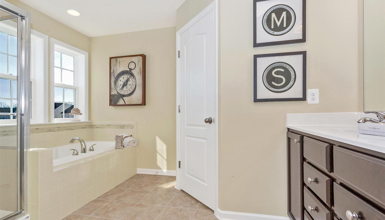 Bathroom featured in the Newbury II By Dan Ryan Builders in Pittsburgh, PA