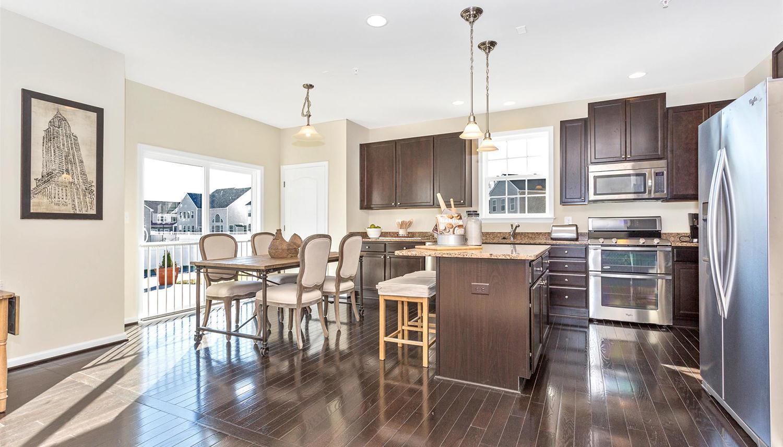 Kitchen featured in the Newbury II By Dan Ryan Builders in Pittsburgh, PA
