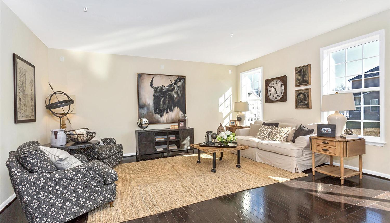 Living Area featured in the Newbury II By Dan Ryan Builders in Pittsburgh, PA