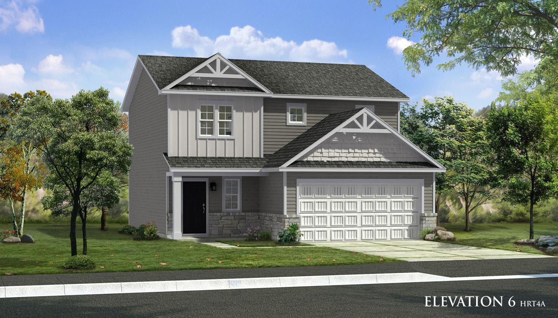Exterior featured in the Glenshaw II By Dan Ryan Builders in Morgantown, WV