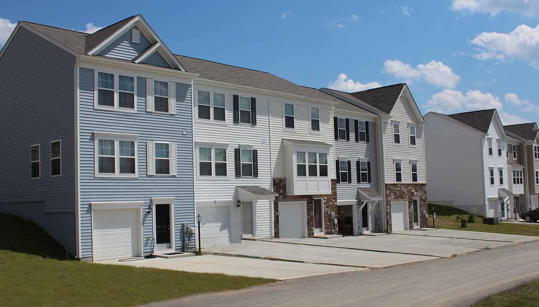 Exterior featured in the Yorktown IIA By Dan Ryan Builders in Morgantown, WV