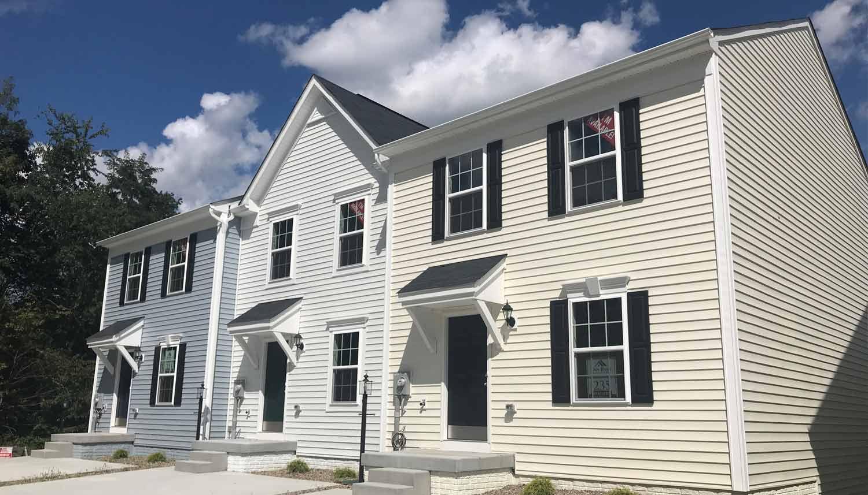 Exterior featured in the Yorktown II Grade By Dan Ryan Builders in Morgantown, WV